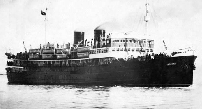 """遇难人数超泰坦尼克号!1941年被德国飞机击沉的""""亚美尼亚""""号海船在黑海被找到"""