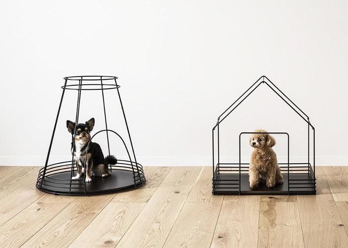 """日本设计师推出外形别创一格的狗屋""""Casano""""助爱宠减焦虑"""