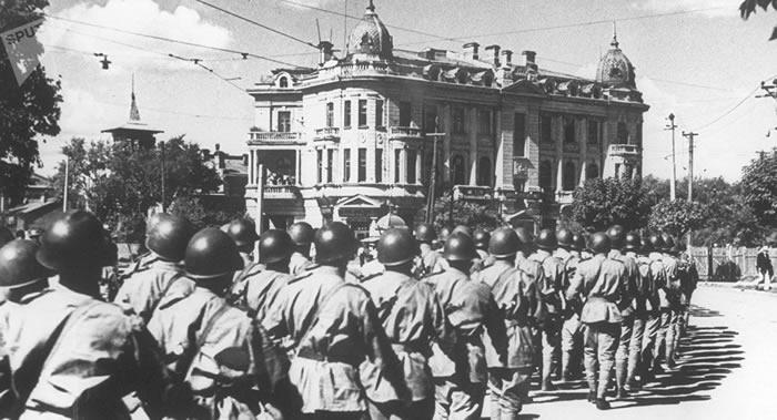 俄罗斯历史学会主席谢尔盖·纳雷什金:苏联与中国为二战的胜利付出最高昂的代价