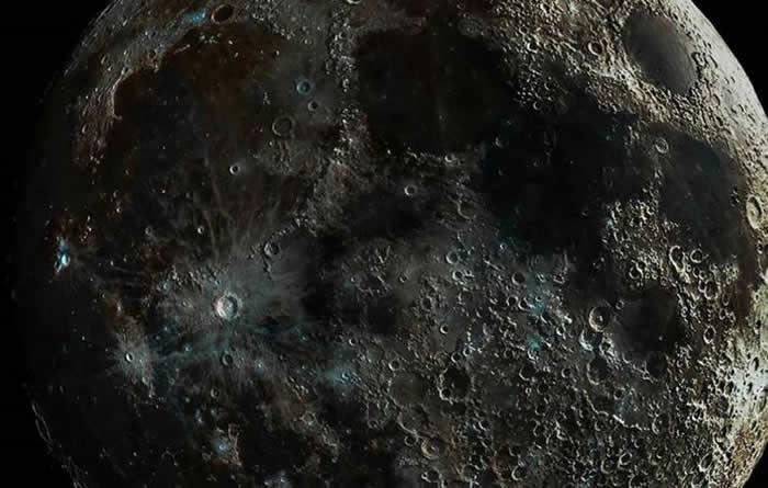 """摄影师Andrew McCarthy发布""""不可能拍摄获得的""""""""终结者月球""""照片"""