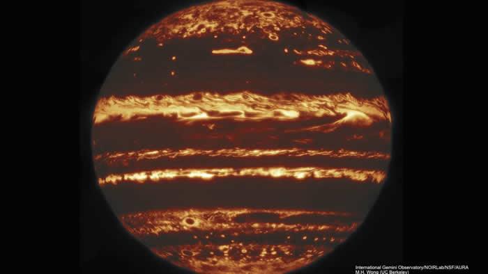 突破性的木星新图像让天文学家对这颗行星云层中的剧烈风暴有了前所未有的了解