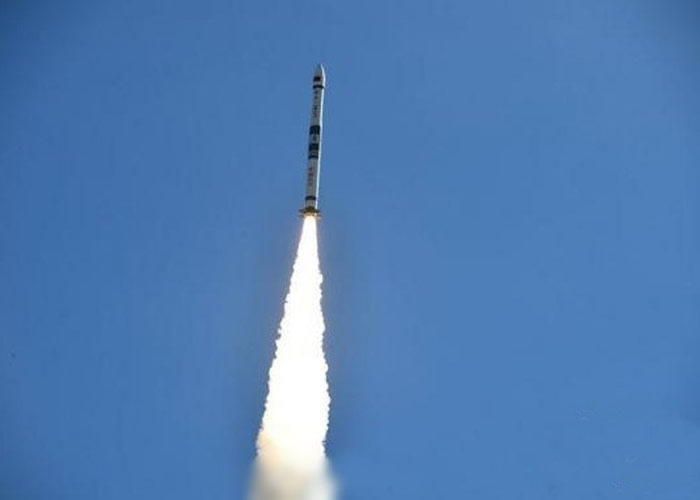"""""""快舟一号甲""""运载火箭成功以""""一箭双星""""方式将""""行云二号""""两颗卫星送入预定轨道"""