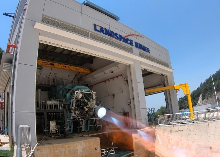 北京蓝箭空间科技研发的朱雀二号火箭控制系统成功与天鹊80吨液氧甲烷引擎匹配验证