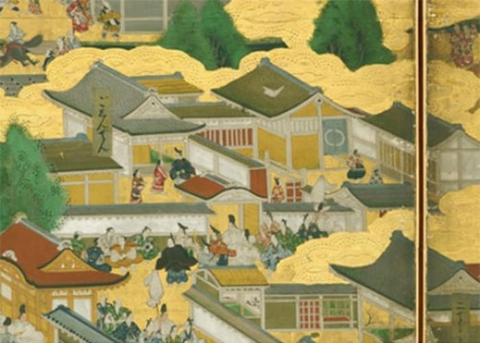 《洛中洛外图屏风》亦描绘了京都新城风貌