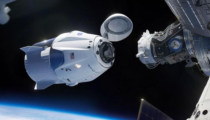 """美国太空探索技术公司SpaceX5月27日进行首次载人飞行任务""""Demo-2"""" NASA直播"""