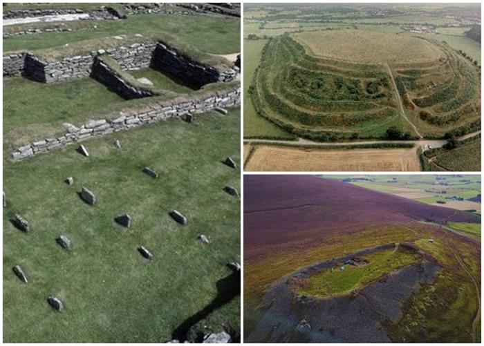 英国苏格兰发现青铜器时代遗址 800间茅屋或住了近4000名皮克特人