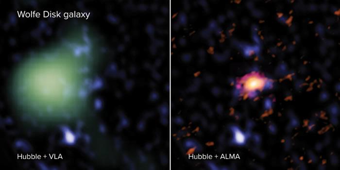 英国马克斯•普朗克学会天文研究所科学家发现最古老和最大的星系DLA0817g