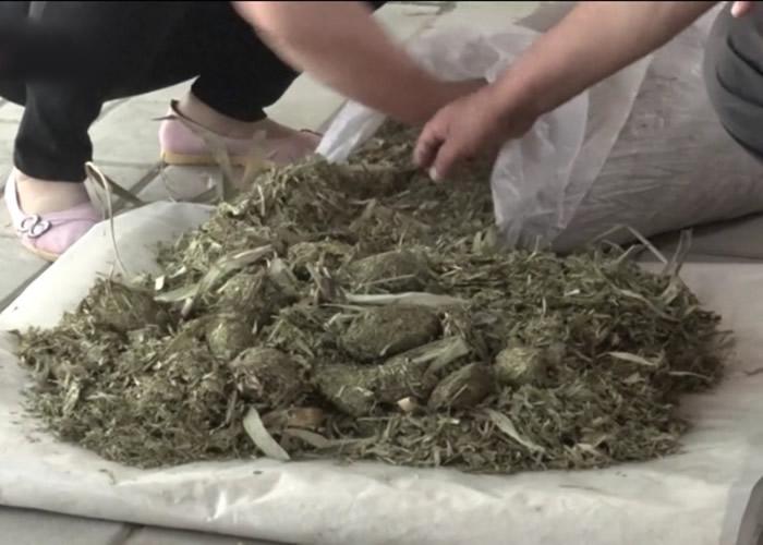 陕西省西安市刘晓东用大熊猫粪便造纸 望将传统工艺传承