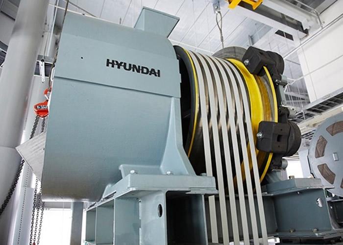 韩国现代电梯公司研发出世界上运行速度最快的升降机技术 46秒可抵126楼