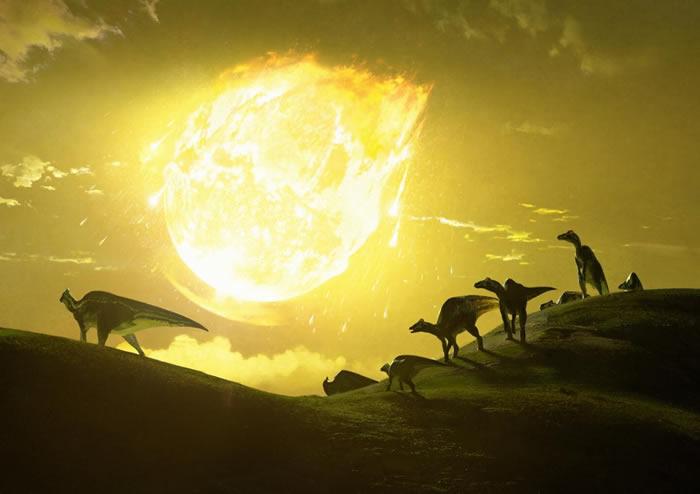 《自然通讯》期刊:杀死恐龙的小行星以致命的角度坠落