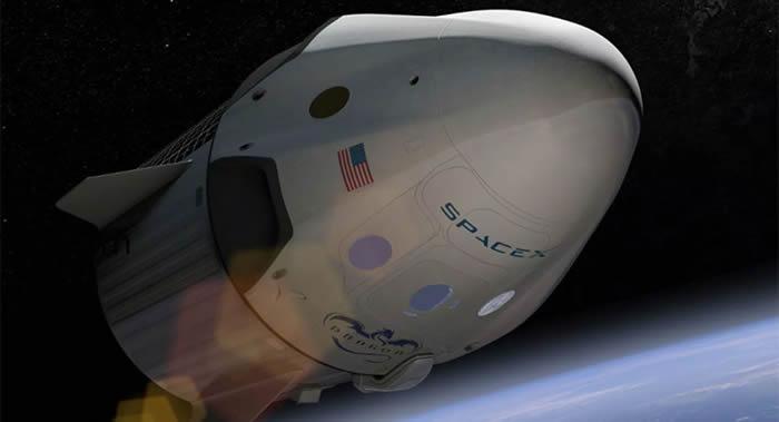 """美国SpaceX""""载人龙""""飞船的首次载人发射因天气原因推迟到5月30日进行"""