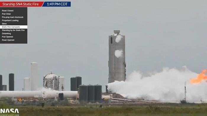 SpaceX星际飞船样机加压测试 点燃引擎后不久即发生爆炸