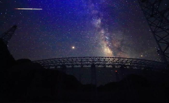 """""""中国天眼""""预计9月可正式启动针对地外文明的搜索"""