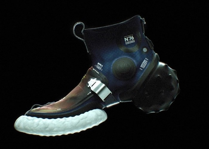 美国设计师推出一款为零重力环境而设的运动鞋ICARUS-4 未来探索太空