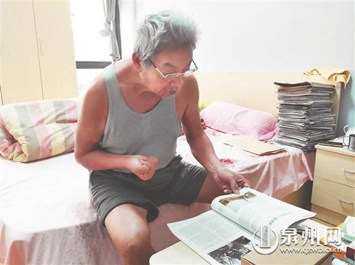 刘志成如今仍在关注两岸考古发现