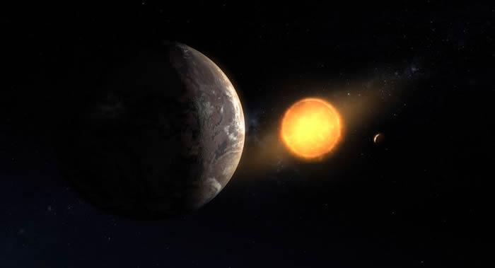 和地球相像的系外行星KOI-456.01围绕和太阳类似的恒星Kepler-160公转