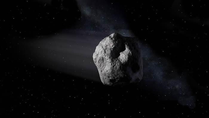 编号为163348(2002 NN4)的小行星6月6日飞掠地球