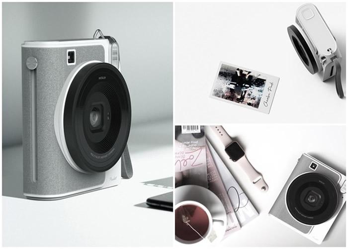 """韩国设计师推出一款可以即影即印的智能相机""""Picslot"""""""