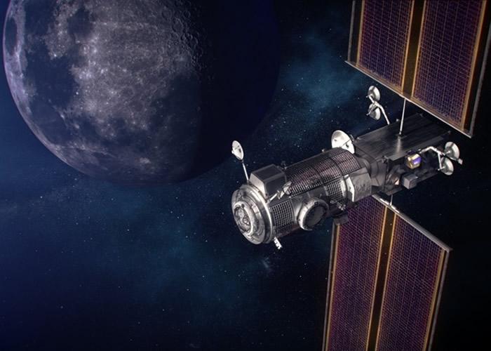 "NASA斥资1.87亿美元委托防务公司诺斯诺普格鲁曼在月球上建造""光晕""住人基地"