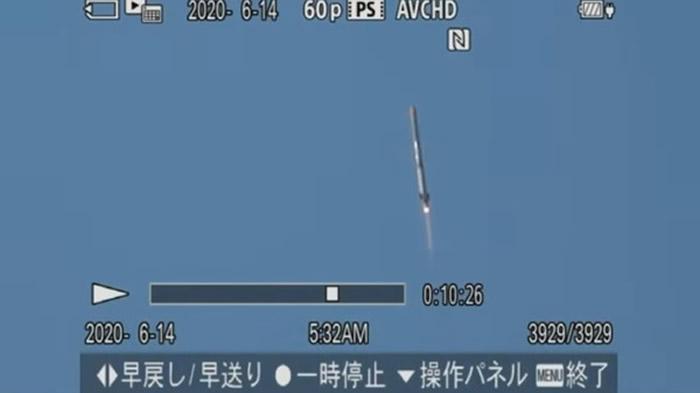 日本民营公司星际科技公司发射MOMO五号机火箭任务失败 升空1分钟坠海
