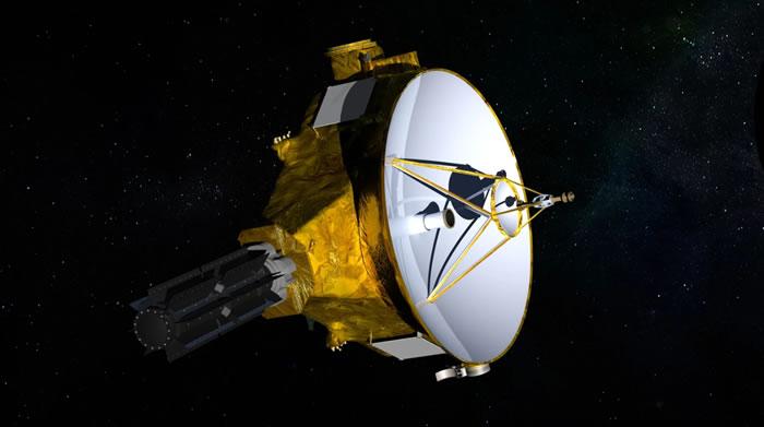 美国宇航局新视野号深空探测器首次向地球传回显示恒星视差stellar parallax图像