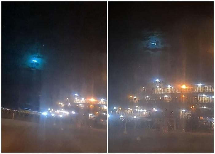 澳洲西澳省皮尔巴拉神秘绿光划破夜空 专家:掠过地球的小行星2004 NN4