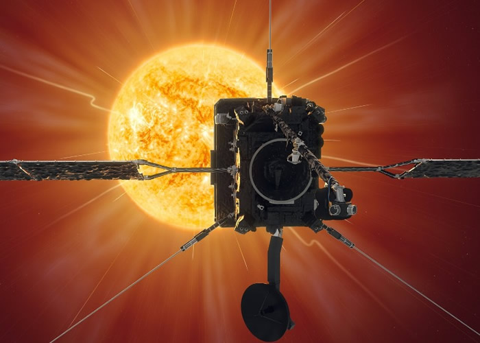 """""""太阳轨道器""""通过首个近日点 离太阳表面仅7700万公里"""