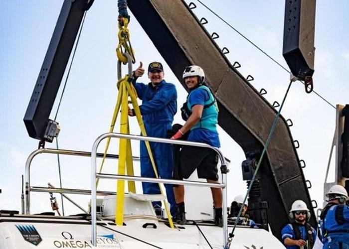 美国人Don Walsh是乘潜艇探索太平洋马里亚纳海沟第一人 其子60年后潜入挑战者深渊
