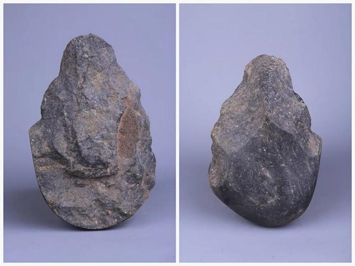 大渡口区马王场旧石器遗址出土的这枚手斧把重庆主城古人类历史提前了100万年