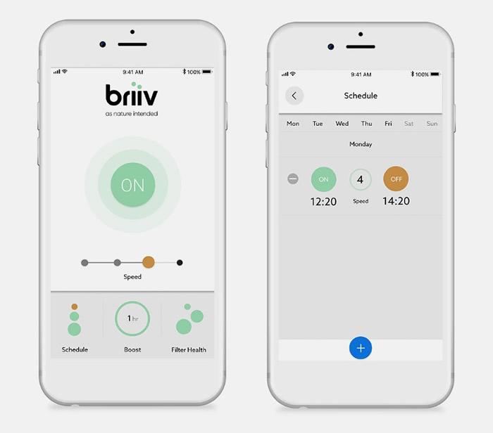 英国设计团队利用经加工的天然苔藓和椰衣取代传统滤芯制成BRIIV全天然空气净化器