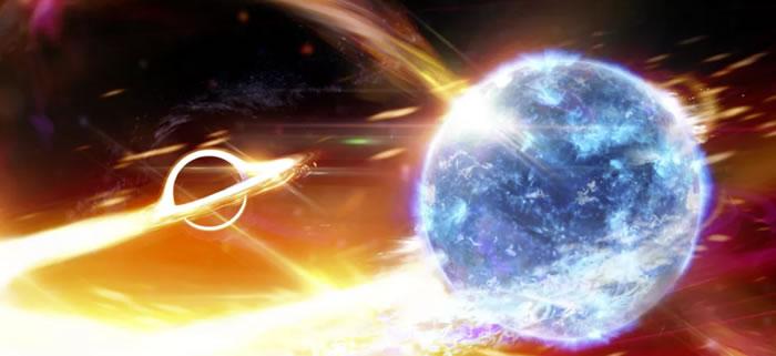 黑洞撞上中子星:2019年8月14日引力波GW190814冲过地球