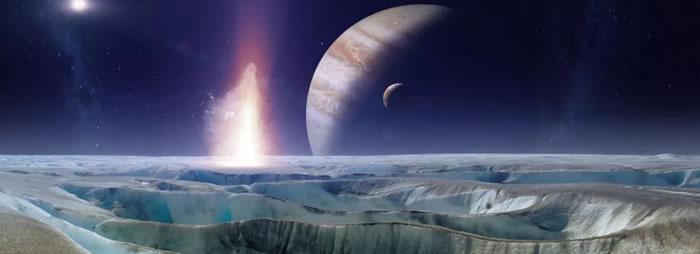 新模型显示木卫二欧罗巴的内部海洋应该能够支持生命