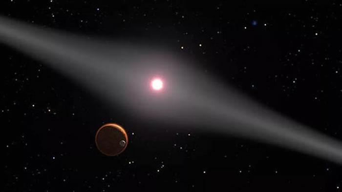 天文学家发现年轻恒星AU Microscopii系统中的第一颗系外行星AU Mic b