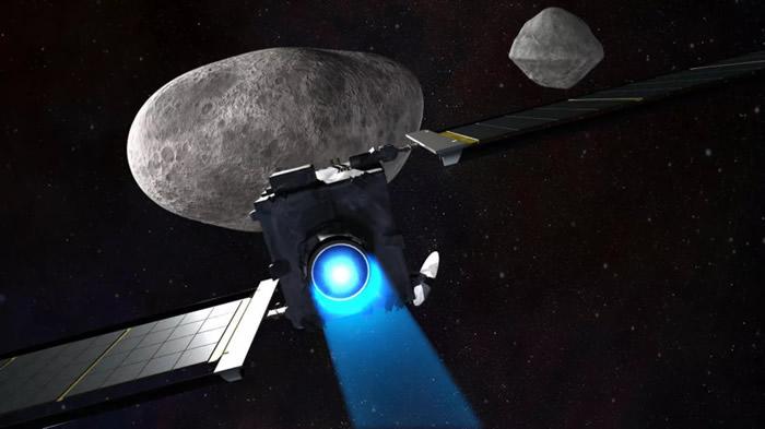 NASA将发射一艘宇宙飞船去撞击小行星Didymos的卫星Dimorphos