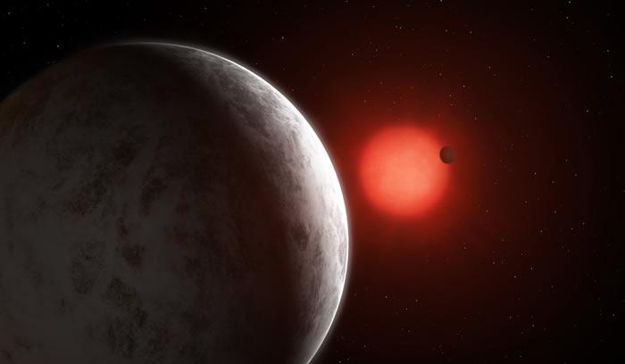 新发现的GJ 887系外行星系统为研究系外行星大气带来巨大希望