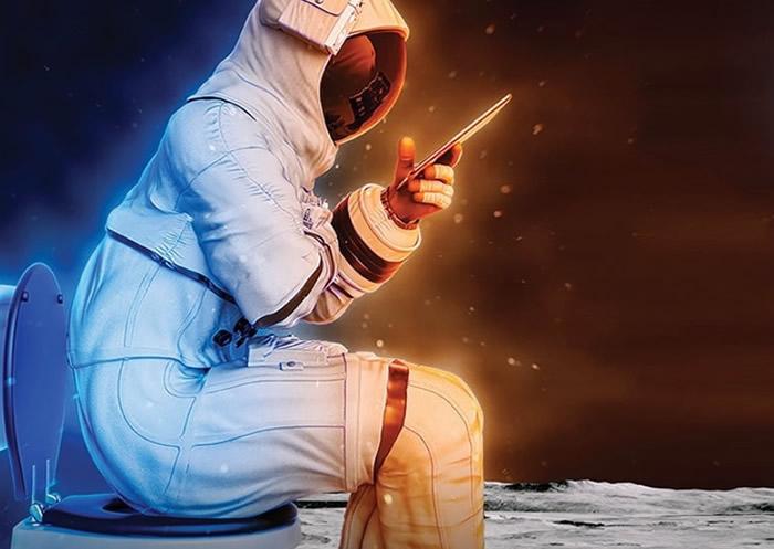 """美国太空总署(NASA)设立3.5万美元奖金广邀民众设计""""月球厕所"""""""