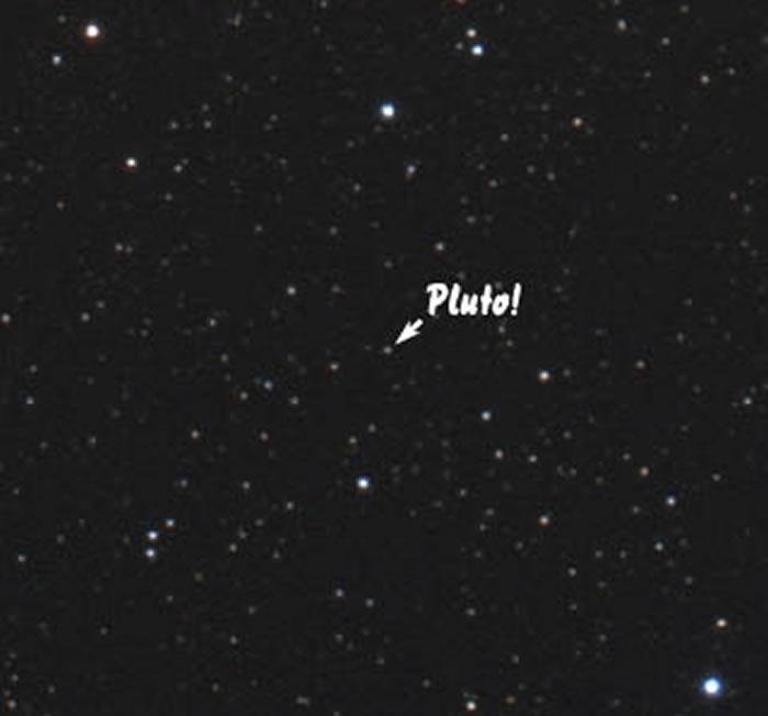 2020年7月16日冥王星冲日