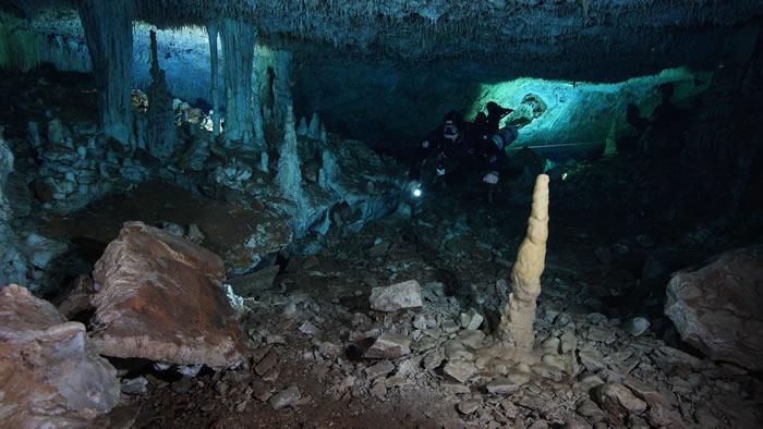 墨西哥首次发现古印第安时期的地下矿山 1.2万年前古人类曾在此开采赭石