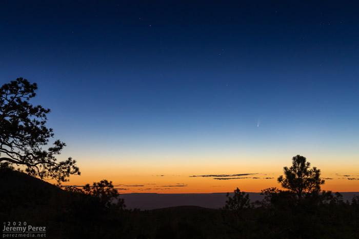 天文爱好者注意:C/2020 F3 NEOWISE彗星比以往任何时候都更加明亮
