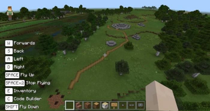 Minecraft内的石隧墓游戏场景逼真。