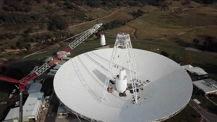 NASA升级在澳大利亚的深空天线DSS-43