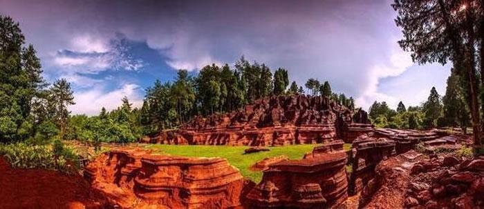 湘西世界地质公园红石林