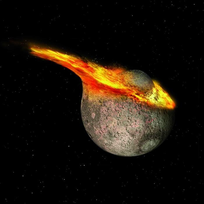 德国明斯特大学航空航天中心科学家新数学模型推算出月球诞生于44.25亿年前