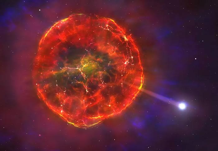 天文学家发现新型超新星爆炸——SDSS J1240+6710 能使白矮星高速穿过银河系