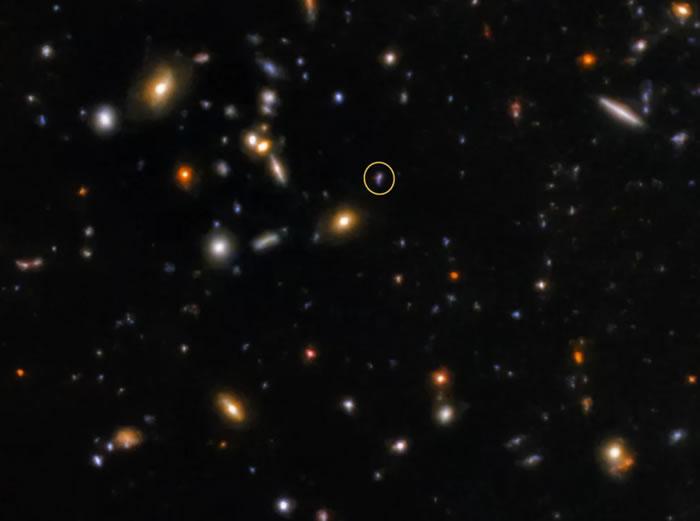 天文学家捕捉到100亿光年外宇宙另一端伽马射线爆发的余晖——SGRB181123B