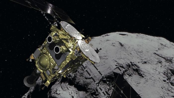 """从小行星""""龙宫""""踏上返程的日本探测器""""隼鸟2号""""将于12月6日凌晨回归地球"""