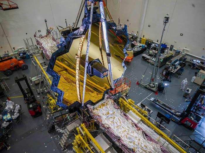 受新冠疫情的严重影响 美国宇航局詹姆斯·韦伯太空望远镜发射日期延后至2021年3月份