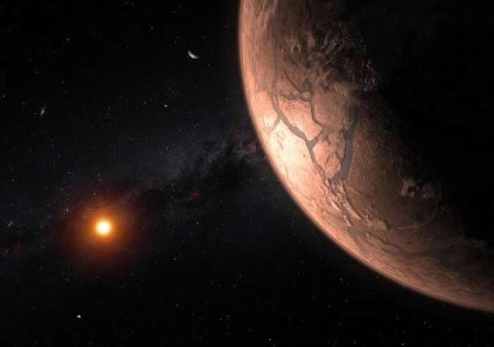 邻近地球的TRAPPIST-1恒星系统中存在拥有类似于地球原始大气层的岩石行星