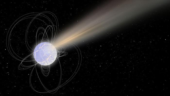 SGR 1935+2154:天文学家首次追踪到磁星与快速射电暴之间的联系
