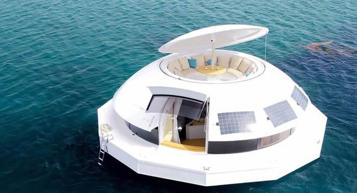 《海底城》!法国布列塔尼半岛海岸出现一家特色生态酒店